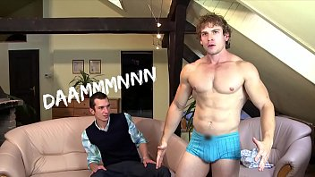 GAYWIRE - Fit Guys With Rock Hard Abs Bareback Fuck On Our Couch