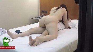 pareja sexo caliente en hotel