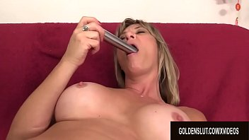 Watch Mature Sky Haven Lewd Toy Solo Session preview