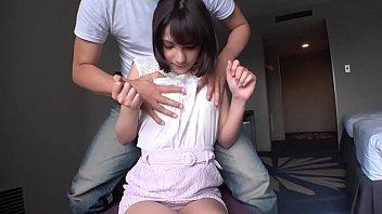 ネットでAV応募→AV体験撮影 1040リサ 20歳 専門学生(美容師)【初撮り】【ハーフ系美少女】【色白美BODY】