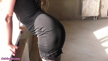 Sexy Realtor in Stockings make Blowjob and had Sensual Sex - Cum on Face