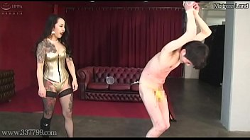 Japanese Femdom Candle Hot Wax and h. Slave
