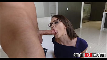 Watch Young And Petite Nerd Alex More Loves Anal Sex preview