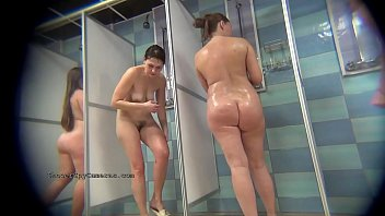 Compilation of voyeur movies from the public showers from ShowerSpyCameras.com