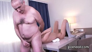 Senior teacher fingers and pokes stripped exceptional sweetie