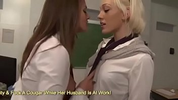Lili Labean and Tori Black Getting Freaky In Class