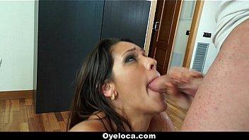 Oyeloca - Hot Latina (Samia Duarte) Gets Masseur Rub Her Moist Pussy
