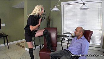 Probation Officer's Boot Bitch - Femdom Boot Fetish