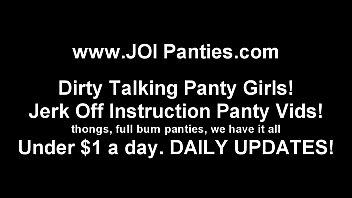 POV Panties and JOI Jerk Off Instruction Vids