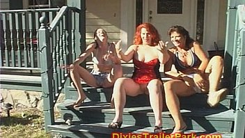 White trash whore house