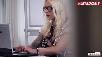 LETSDOEIT - #Fit XXX Sandy - Sexy MILF Babe Rough Fun At Work With Her Janitor
