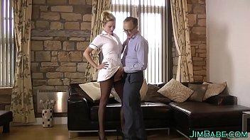 Popular stockings Mobile movie & Brit nurse in stockings Thumbnail