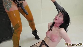 Teen gets fuck of her life  first time domination