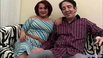 an amateur couple with hairy wife