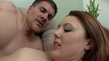 Unsophisticated brunette Cammie Fox  trotted out her pussy by playful papa