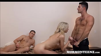 Watch Blonde Mormon Girl Punish Fucked By Church Boss For Premarital Sex preview
