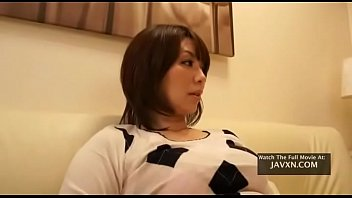 Japanese Slutty MILF With Amazing Tits Fucks Stepson