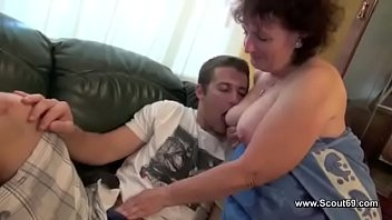 Step Son Fuck Mother Hard and Cum on Ass