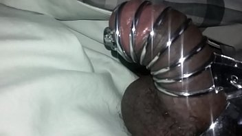 Homemade cock cage