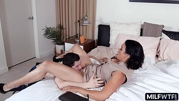 Young old with Asian cougar