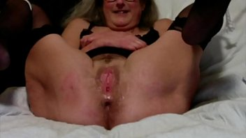 Beautiful Brunette Wife Vibes Her Wet Pussy Enjoys A Big Squirting Orgasm