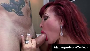 Big Titty Milf, Sexy Vanessa, gets her older lady love holes filled with Alex Legend's Fat Dick, milking him like the pro she is until he cums! Full Video & Watch Me Fuck Chicks  @ AlexLegend.com! Thumbnail
