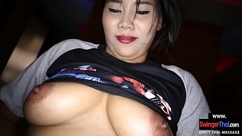 Big Round Ass Asian Chick Rubs His Back Before Hot Sex thumbnail