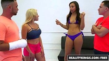 RealityKings - Money Talks - (Adrian Maya) (Amy Pa) - Oil Wrestling