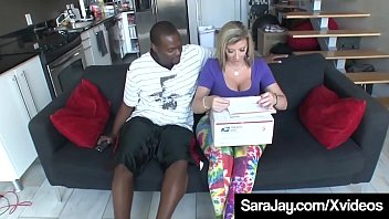 World Famous Sex Queen, Sara Jay, squats on a big black cock that she fucks until she milks his warm load all over her! Full Video & Sara Live @ SaraJay.com!