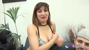 Noelia gets HER ASS DRILLED for money while her boyfriend watches