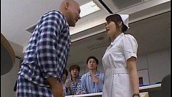 Yuki Mana nurse gets cum on face from men