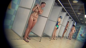 Collection of hidden camera moview from the public shower from ShowerSpyCameras.com
