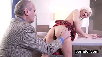 Senior instructor finger fucks and rides nude flawless nympho