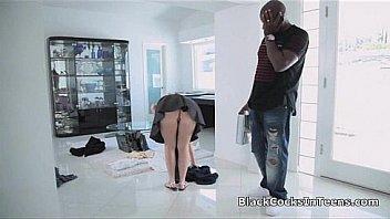 Black dude fandens white pige...
