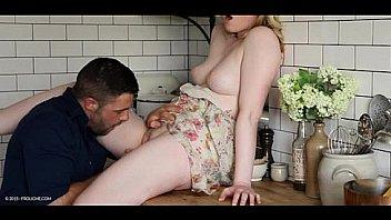 Kitchen blonde 've sex- Satine Spark - TOO PRECIOUS