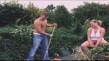 Kumalott - Fucking Outdoor for Busty Blonde