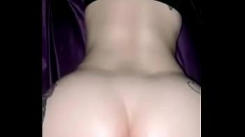 Blonde creamy pussy doggystyle