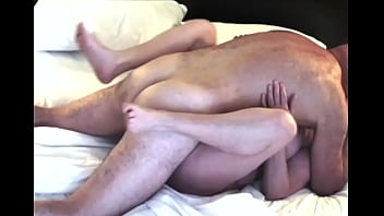 Mature amateur couple love fucking missionary