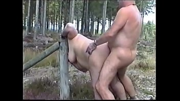 Sex Slave Suzi displayed in the forest.