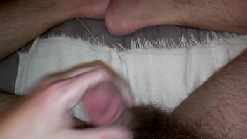 Cock Stroke with Cum
