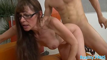Mature babe bent over and pussyfucked