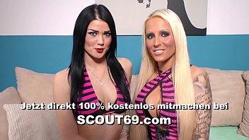 18 Jahre junge Berliner Nutte mit natürlichen Titten von Freier bim ficken gefilmt - German Hooker