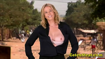 Comedienne Chelsea Handler Getting Her Big Milf Tits Out Compilation