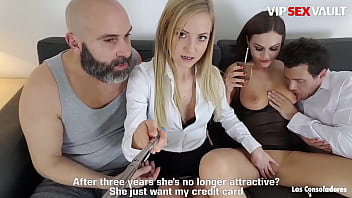 VIP SEX VAULT - #Tina Kay - Epic Foursome Fun With Two Crazy Sexy Babes