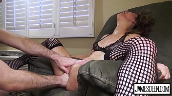 ABBIE MALEY WILD SEX IN HOTEL ROOM - DESTROYED AND FISTED BY JAMES DEEN