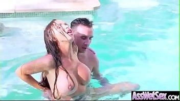 Sexy Oiled Big Ass Girl (Nikki Benz) Enjoy Hard Anal Sex video-19