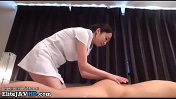 Jav massage with stunning babe turns in sex