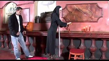 Innocent nun gets fucked like bitch