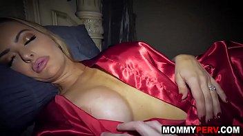 Fingering my sleeping stepmom's pussy - taboo fuck