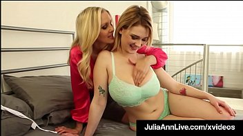 Special Guest Star Siri Pornstar makes out with World Famous Milf Julia Ann with hot Jack Off Instructions for us horny fucks to follow to the letter! Full Video & Live @ JuliaAnnLive.com